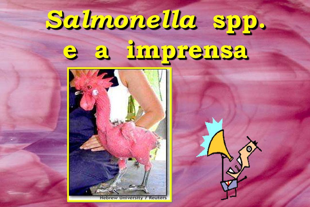 Salmonella spp. e a imprensa Salmonella spp. e a imprensa