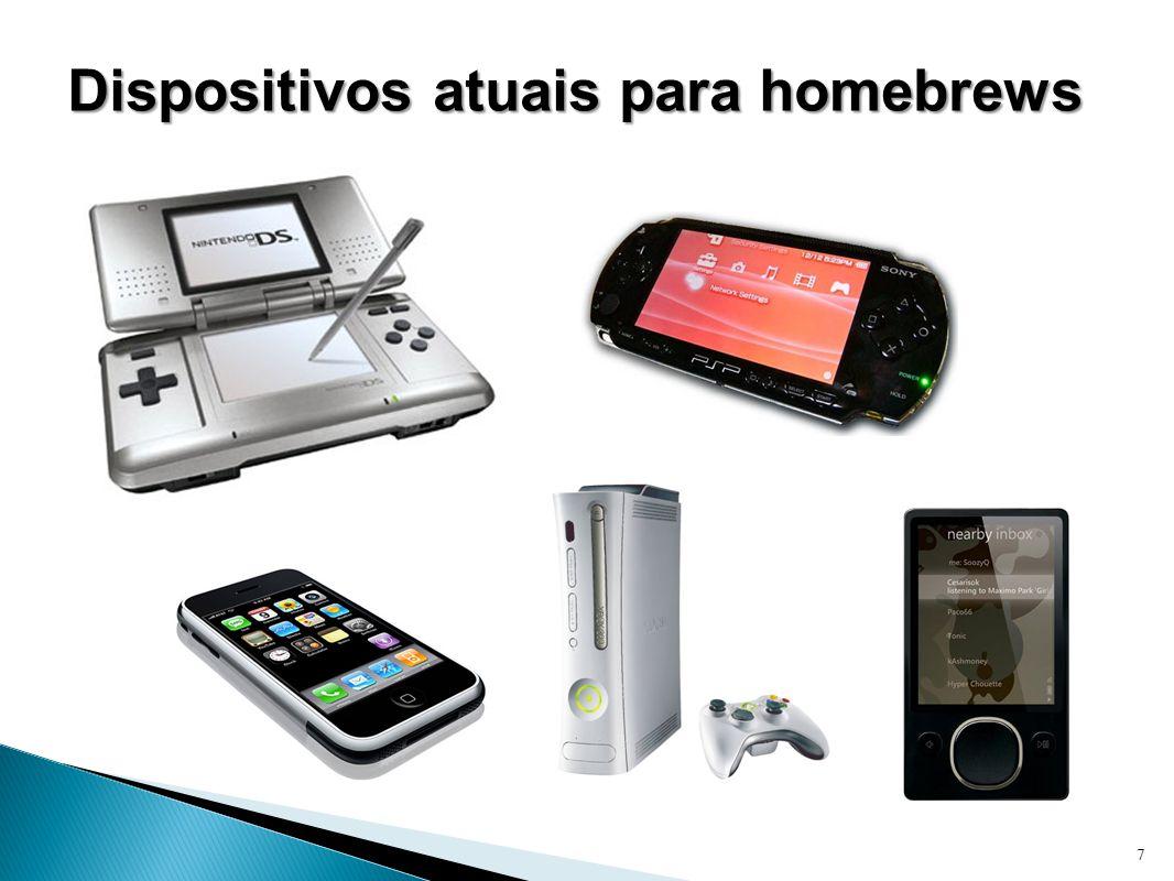 Dispositivos atuais para homebrews 7