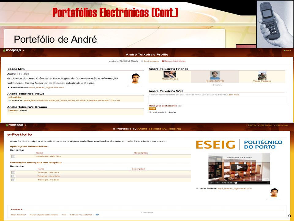 Bibliografia (Cont.)  Portfolio Digital [Em Linha].