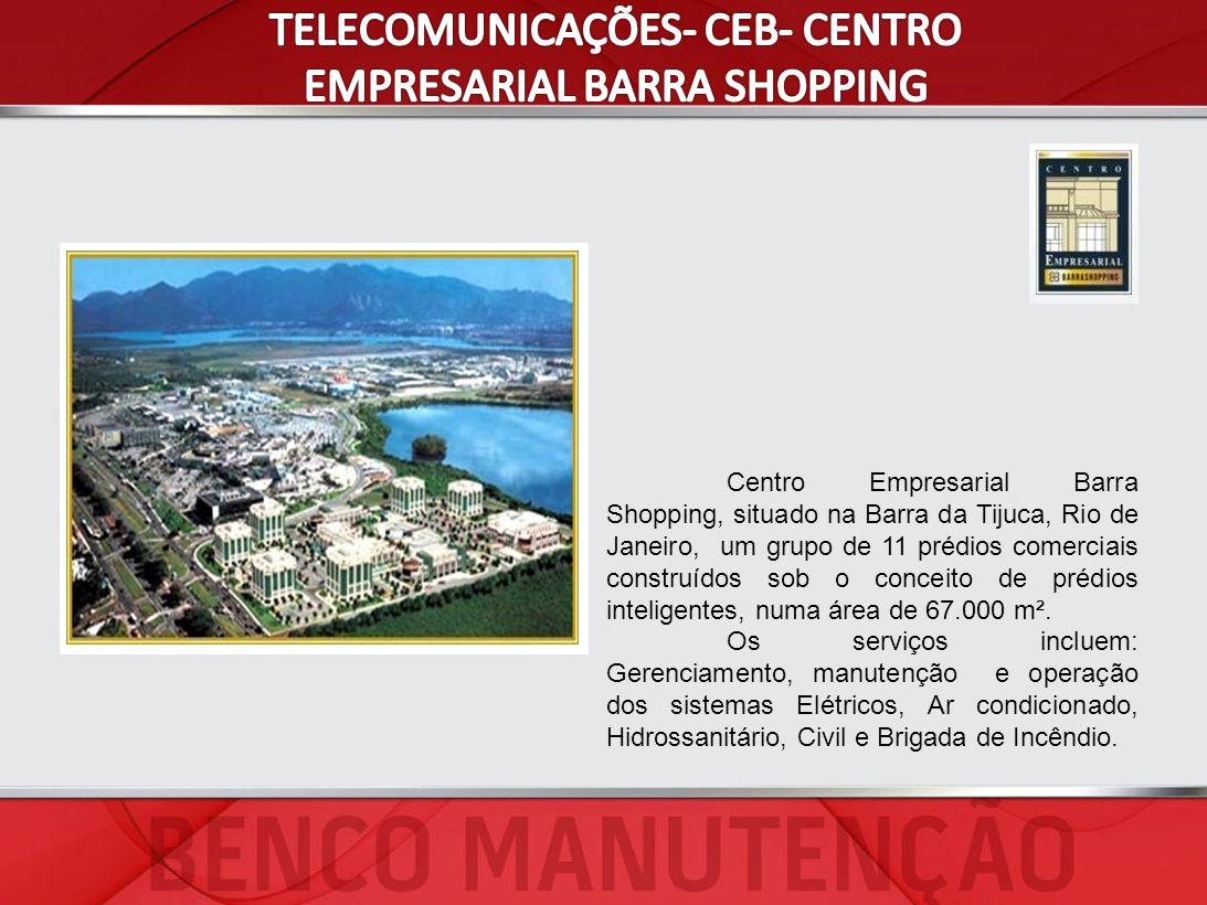 Centro Empresarial Barra Shopping, situado na Barra da Tijuca, Rio de Janeiro, um grupo de 11 prédios comerciais construídos sob o conceito de prédios