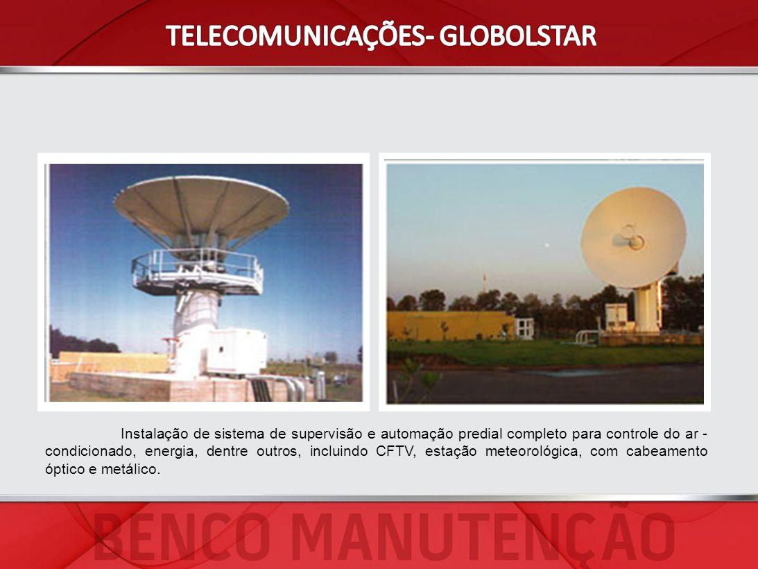 Instalação de sistema de supervisão e automação predial completo para controle do ar - condicionado, energia, dentre outros, incluindo CFTV, estação m