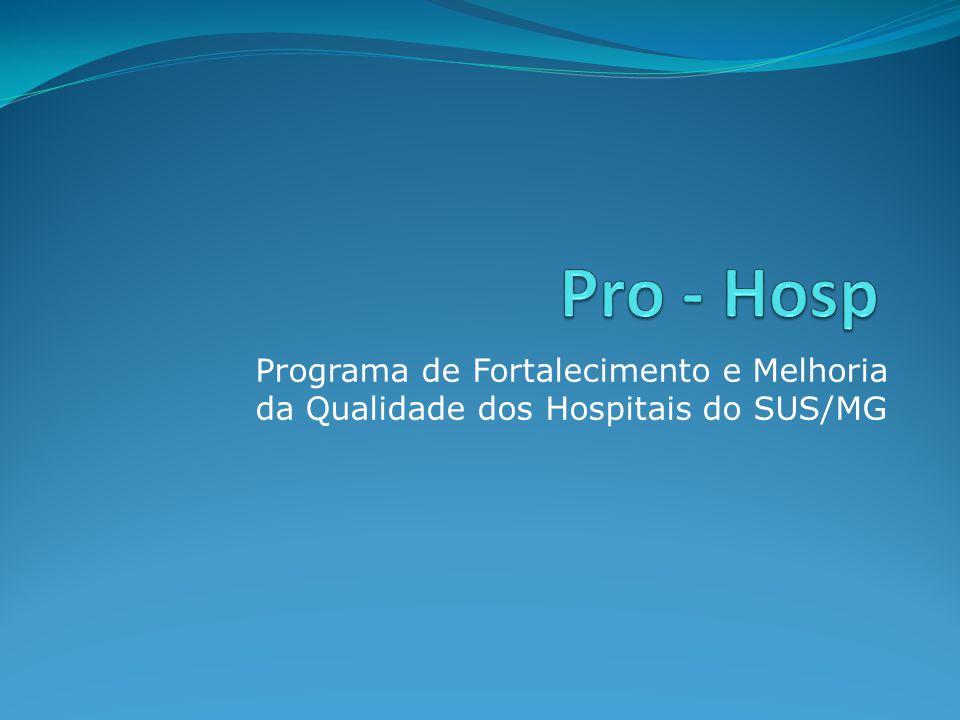 Programa de Fortalecimento e Melhoria da Qualidade dos Hospitais do SUS/MG