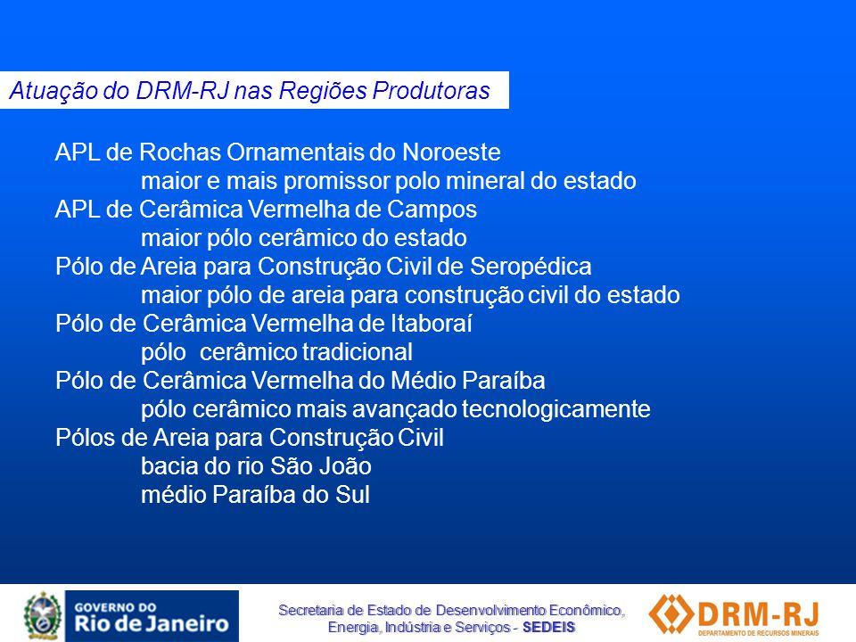 Secretaria de Estado de Desenvolvimento Econômico, Energia, Indústria e Serviços - SEDEIS Produtos da Cadeia Produtiva - Resíduos