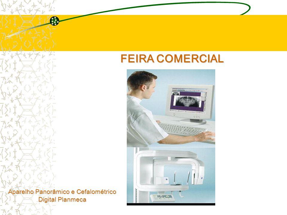 FEIRA COMERCIAL Aparelho Panorâmico e Cefalométrico Digital Planmeca
