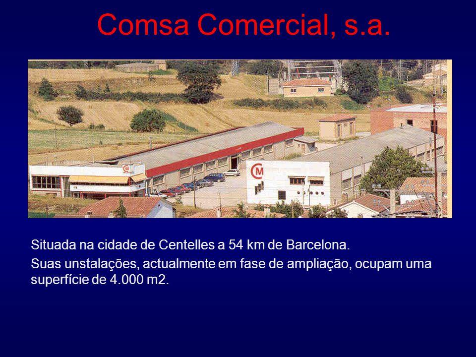 Comsa Comercial, s.a. Situada na cidade de Centelles a 54 km de Barcelona.