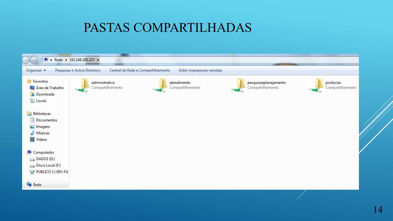 PASTAS COMPARTILHADAS 14