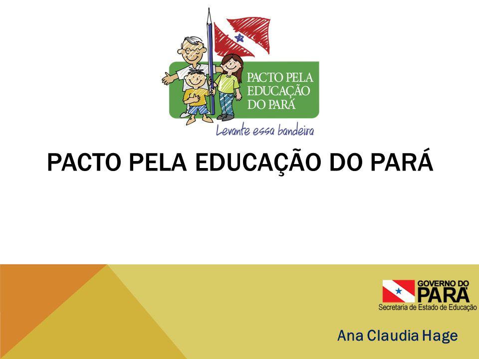 CENÁRIO EDUCACIONAL EXTREMAMENTE PREOCUPANTE NO PARÁ  IDEB muito abaixo da média nacional em todos os níveis;  Baixíssimo percentual de alunos com aprendizagem considerada adequada, sendo que, ao final da educação básica, apenas 13,3% em Língua Portuguesa e 3,1% em Matemática alcançam esta condição;  Apenas 31,7 % dos jovens até os 19 anos concluem o Ensino Médio, condição mínima para a entrada no mercado de trabalho;  A taxa de abandono escolar no Ensino Médio, de 20,6%, é uma das maiores do Brasil;  A escolaridade média da população é de 5,9 anos, muito abaixo da média nacional de 7,2 anos.