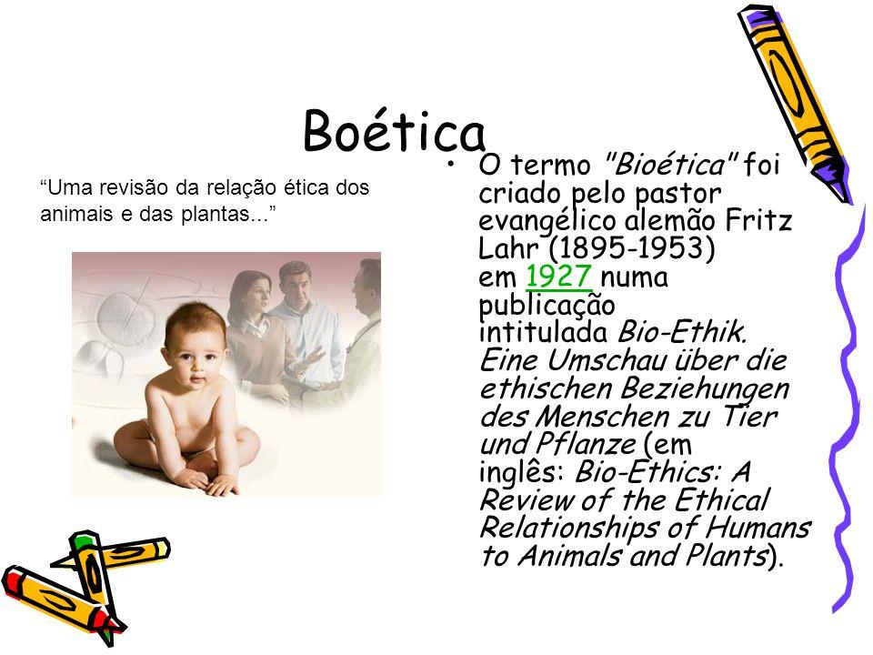 Boética •O termo