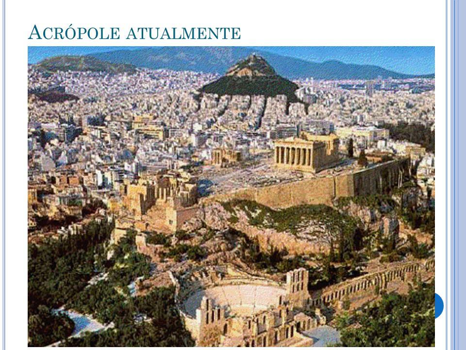 A S ATIVIDADES ECONÔMICAS A polís era formada pela cidade e a área rural.