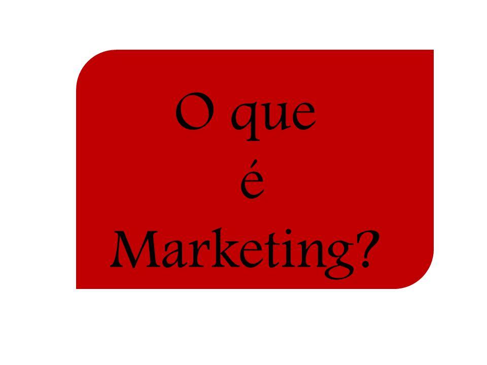 Isso não é Marketing Muitas pessoas pensam em marketing apenas como vendas e propaganda e isso não causa nenhuma surpresa; Entretanto, vendas e propaganda constituem apenas a ponta do todo do marketing; O marketing não deve ser entendido no velho sentido de efetuar uma venda, mas no de satisfazer as necessidades dos clientes.