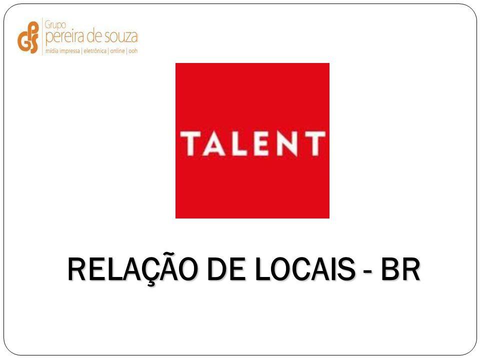 RELAÇÃO DE LOCAIS - BR