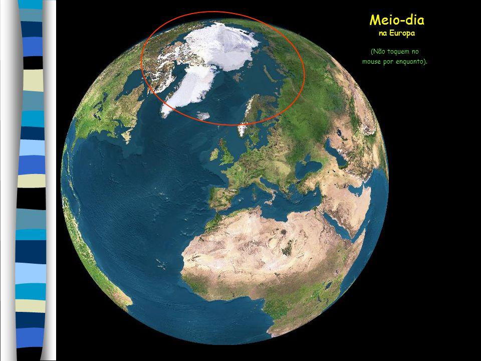 Filipa Vicente Vejam a seguir uma simulação com imagens de satélite de como o sol atingiu a Terra no dia 21 de junho (solstício de verão), o dia mais