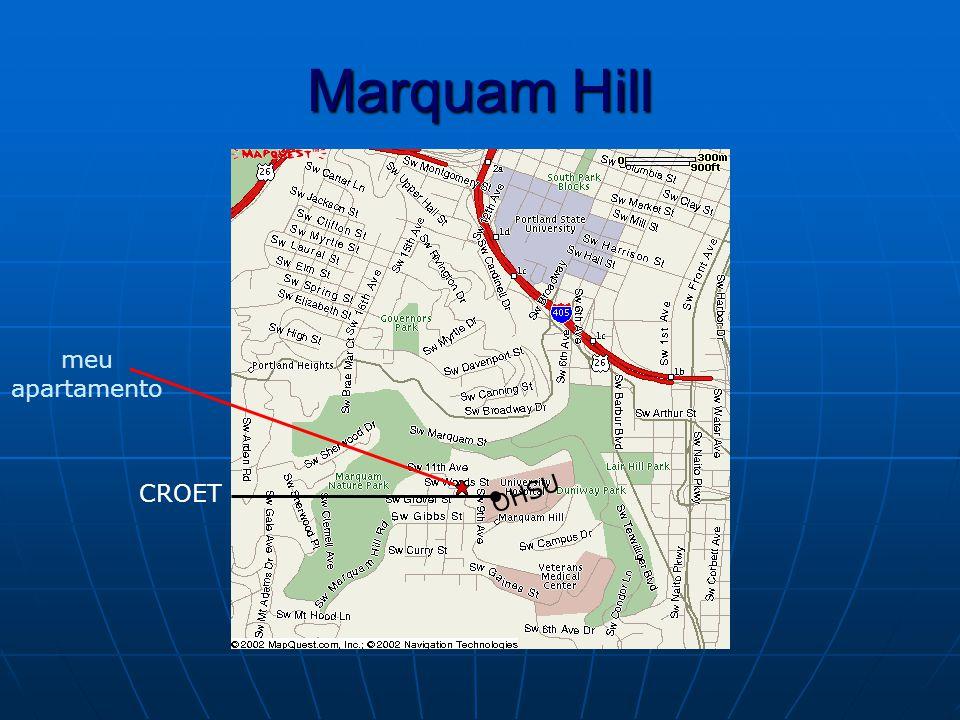 Marquam Hill CROET OHSU meu apartamento