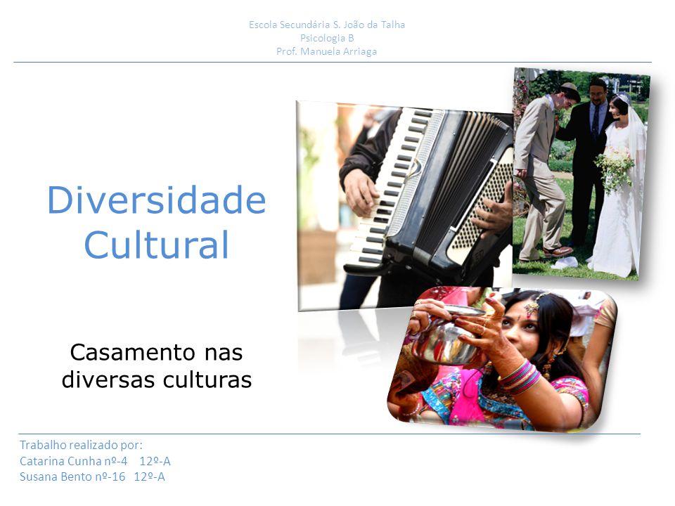 Diversidade Cultural: Numa sociedade confluem várias culturas onde se contrapõe várias realidades que se prendem com os diferentes saberes, valores, entre outros enraizadas dessa mesma cultura.