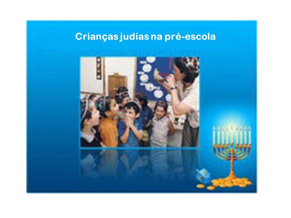 Crianças judias na pré-escola