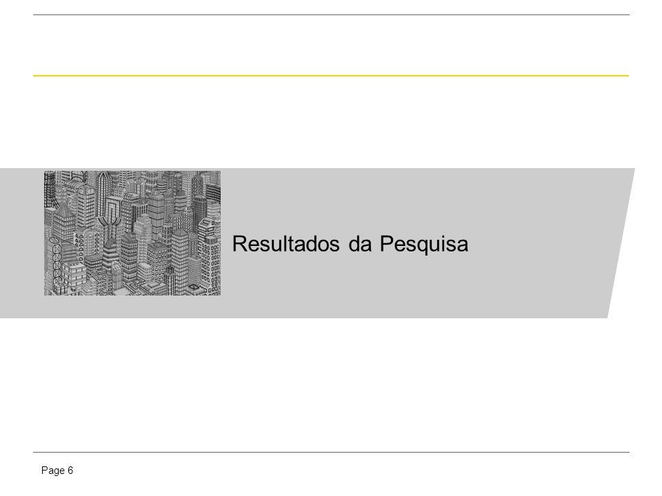 Presentation titlePage 6 Resultados da Pesquisa