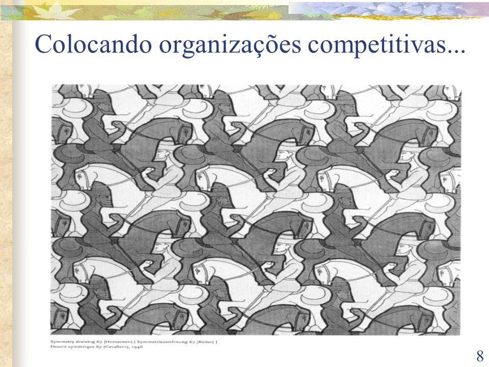 8 Colocando organizações competitivas...