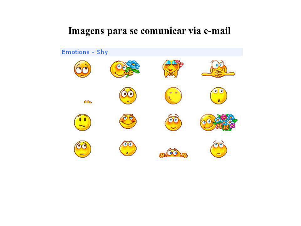 Imagens para se comunicar via e-mail
