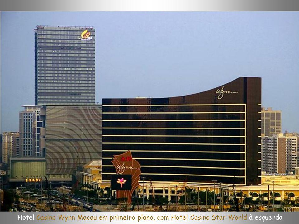 Macau Palace - o casino flutuante