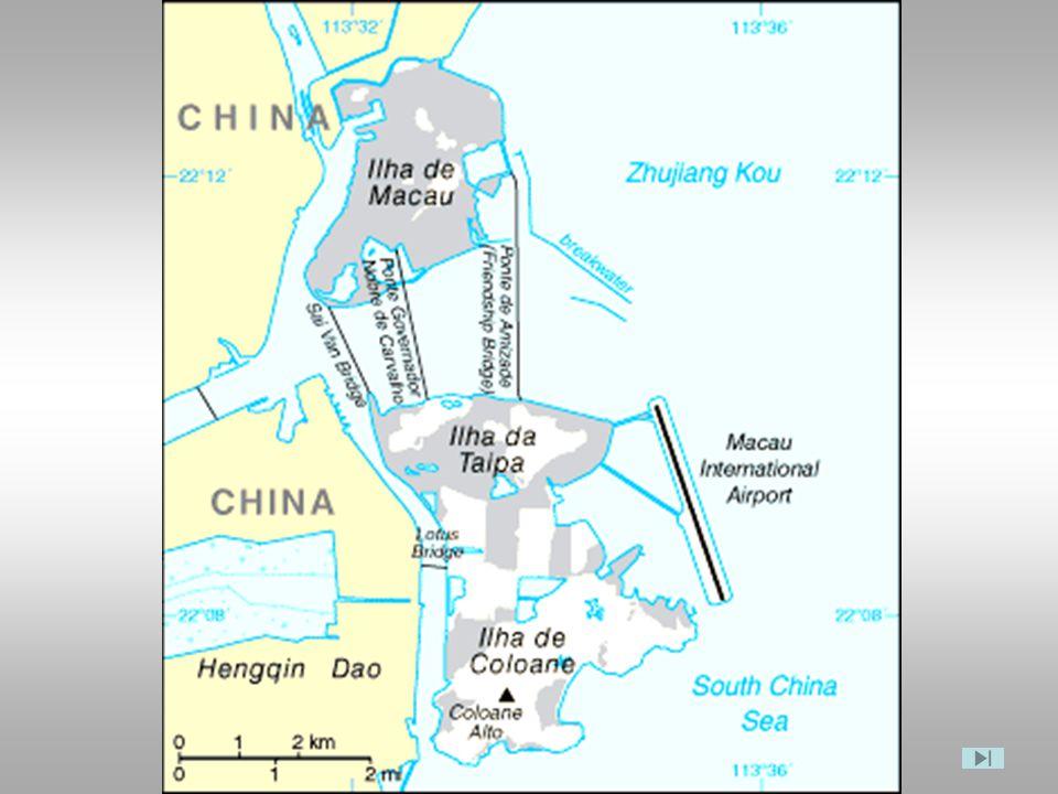 Portas do Cerco no Gongbei - Posto Fronteiriço para a China continental