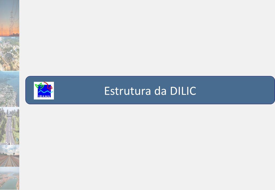 Estrutura da DILIC