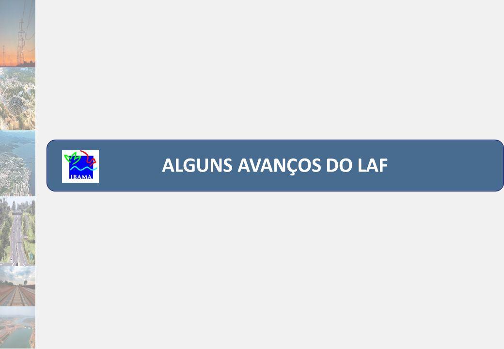 ALGUNS AVANÇOS DO LAF