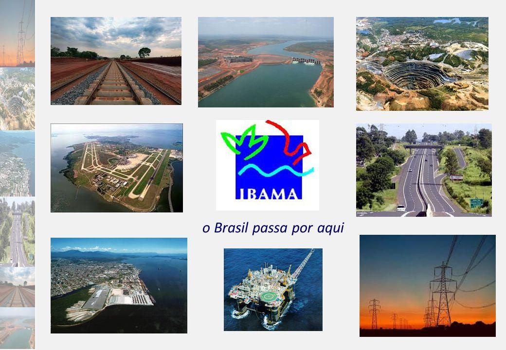 o Brasil passa por aqui
