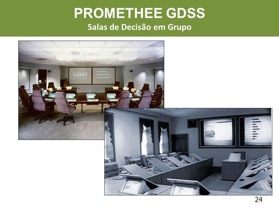 24 PROMETHEE GDSS Salas de Decisão em Grupo