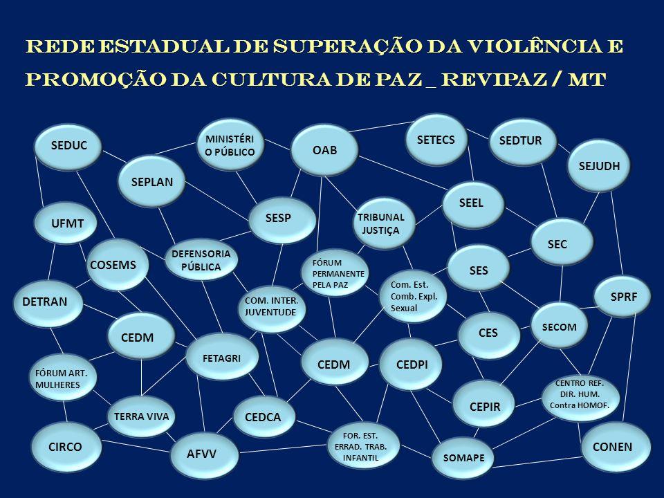 • Socialização de informações; • Cooperação/Articulação; • Otimização de recursos; • Fortalecimento dos objetivos comuns; • Maior impacto nos resultados.
