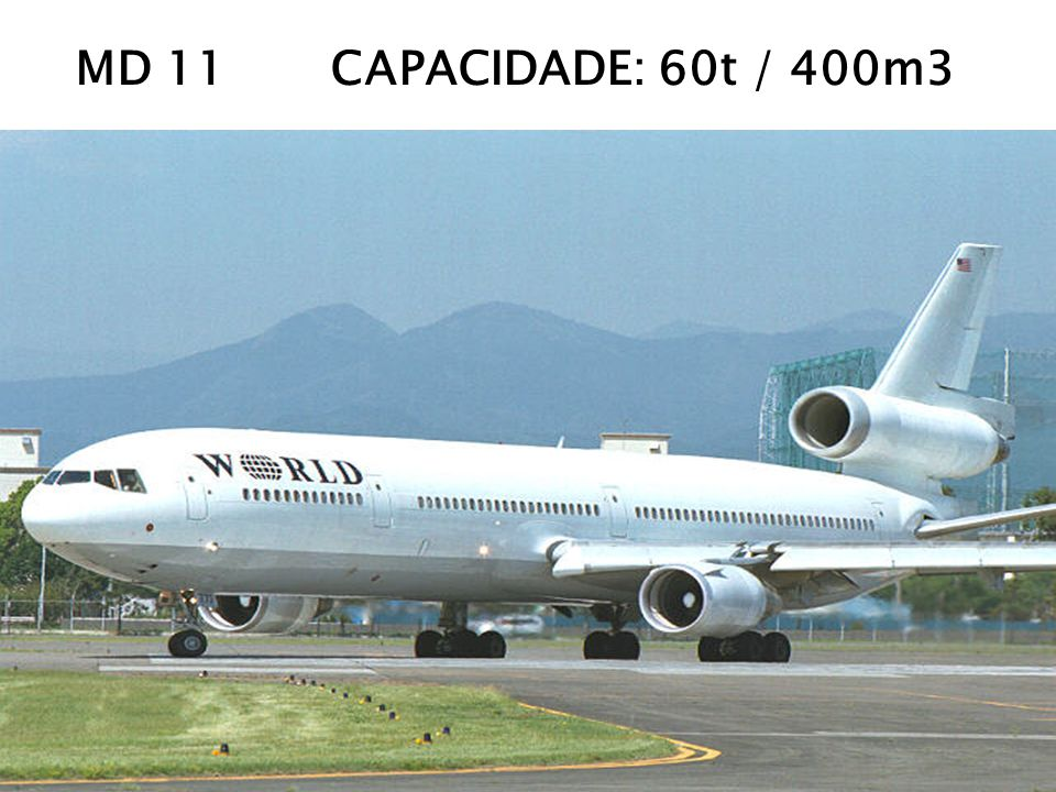 MD 11 CAPACIDADE: 60t / 400m3