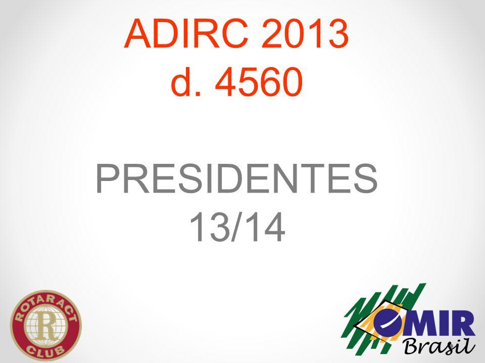 ADIRC 2013 d. 4560 PRESIDENTES 13/14