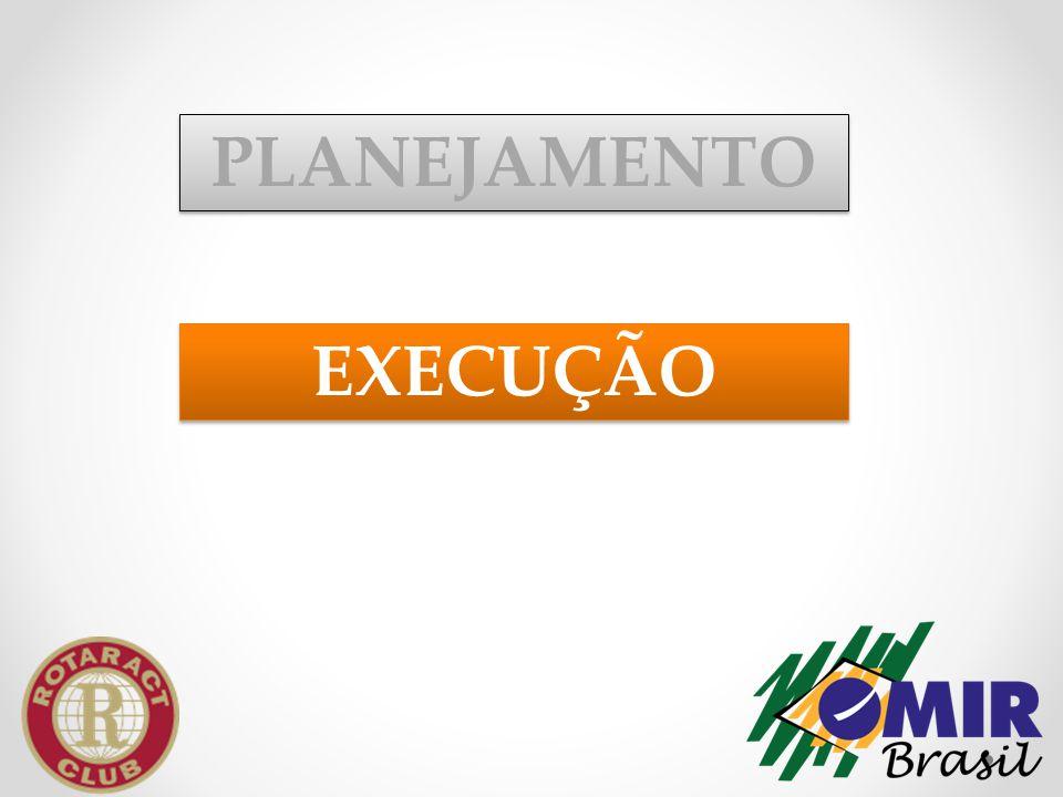 EXECUÇÃO PLANEJAMENTO