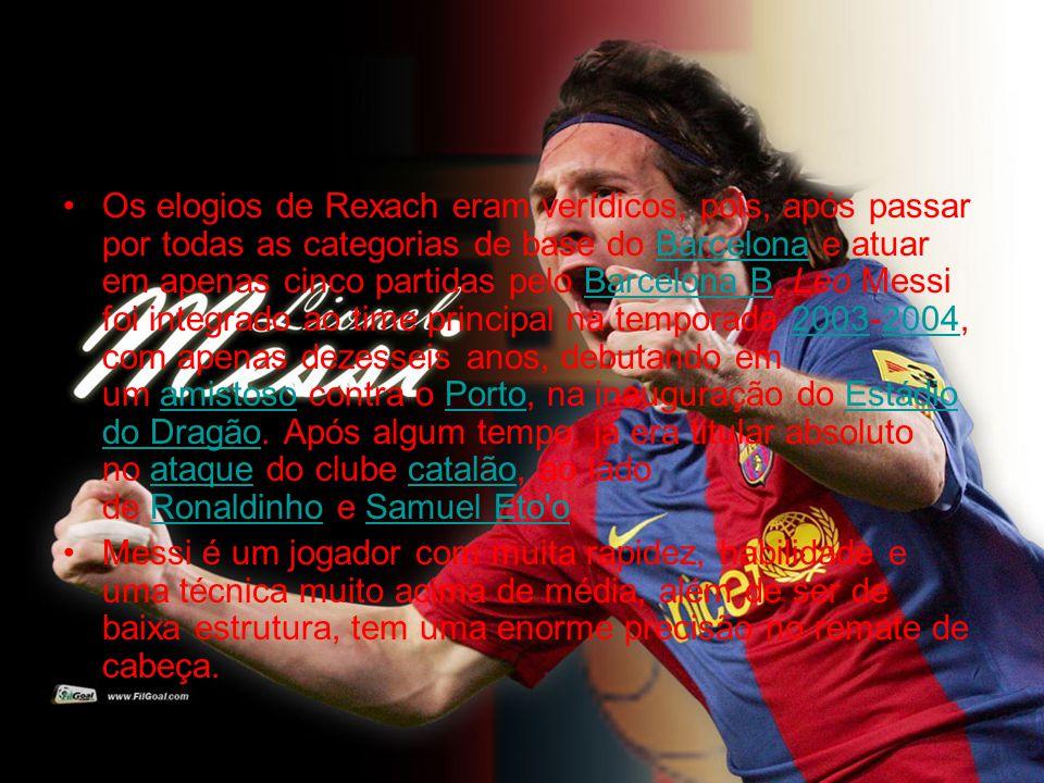 •Os elogios de Rexach eram verídicos, pois, após passar por todas as categorias de base do Barcelona e atuar em apenas cinco partidas pelo Barcelona B