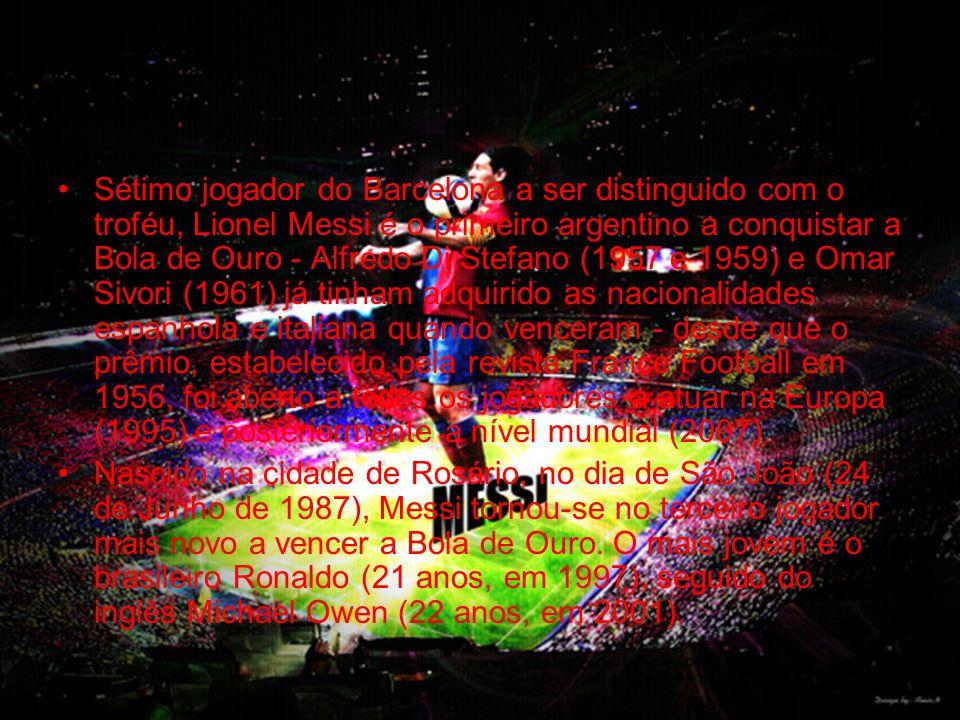 •Um problema hormonal, que lhe causava problemas de crescimento, acabou por colocar Messi na rota do Barcelona.