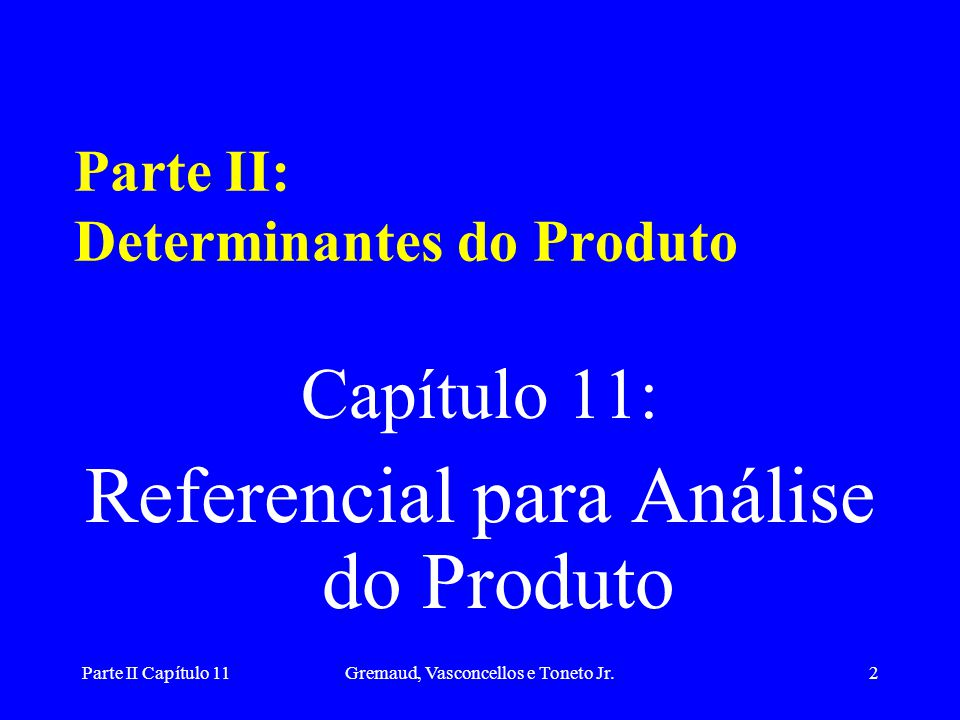 Parte II Capítulo 11Gremaud, Vasconcellos e Toneto Jr.22 MODELO IS/LM: ECONOMIA ABERTA i i* LM* IS* Y