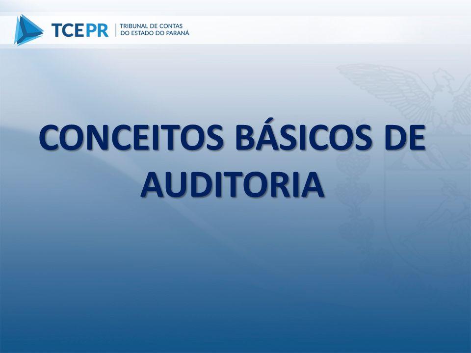 Requisitos para elaboração do Relatório de Auditoria CERTO C C C E T O Clareza Convicção Concisão Exatidão Relevância R Tempestividade Objetividade
