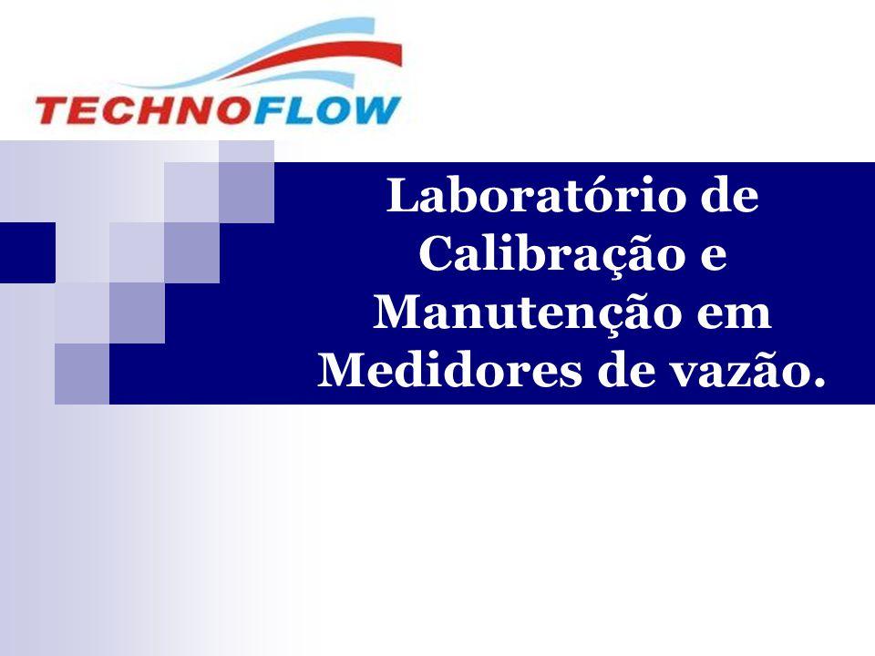 Laboratório de Calibração e Manutenção em Medidores de vazão.