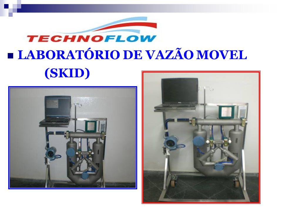  LABORATÓRIO DE VAZÃO MOVEL (SKID)