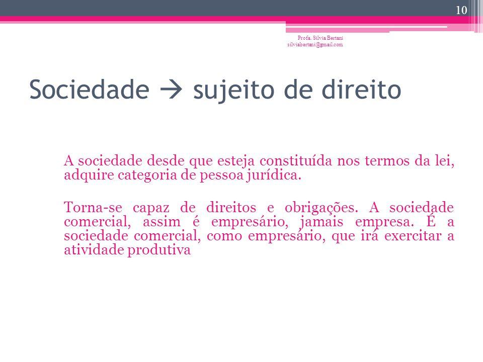 Características A empresa é o exercício de atividade produtiva. E do exercício de uma atividade não se tem senão uma idéia abstrata. No direito brasil