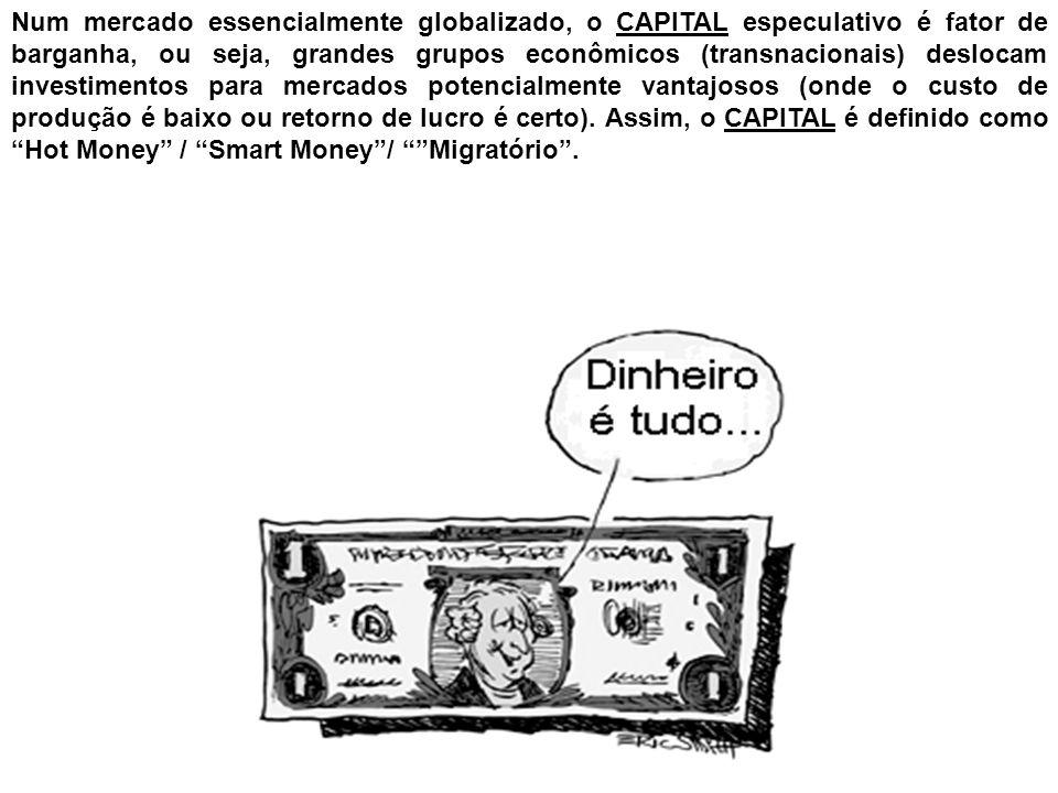 O histórico da GLOBALIZAÇÃO é a sequência de manifestações do CAPITALISMO:posse do capital = domínio mundial.