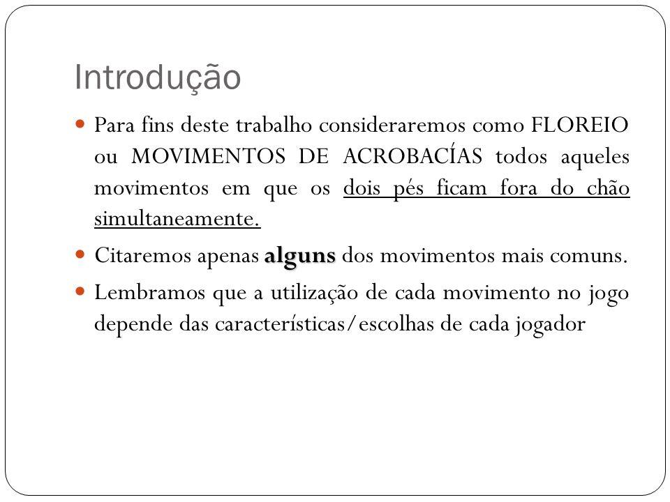 Introdução  Trataremos dos seguintes movimentos:  Aú (e algumas variações)  Parada de mão -> Pião de mão  Parada de Cabeça -> Pião de Cabeça  Macaco  Beija-flor  Salto Mortal