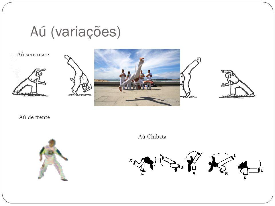 Parada de mão  Pião de mão : É uma variação da parada de mão, onde, no momento em que as pernas encontram-se estendidas o capoerista gira sobre seu própiro eixo.