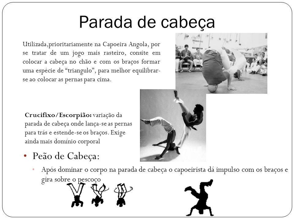 Macaco Consiste na aplicação de um salto para trás, cujo movimento começa com o agachamento, e a colocação da mão no chão, para trás, e próxima ao corpo.