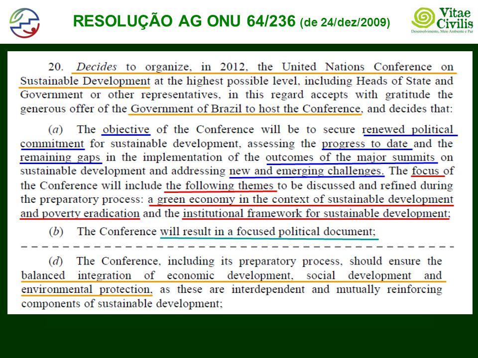 CONTEÚDO RIO+20: PONTOS EM DESTAQUE (2/3) (com base em falas de Sha Zukang em 30/09 e 03/11/2011) • Sobre os temas novos e emergentes, despontam até aqui: •Combate à pobreza, com empregos verdes e inclusão social •Segurança alimentar e agricultura sustentável •Gestão da água •Acesso à energia (incluindo renováveis, eficiência, etc) •Assentamentos humanos sustentáveis (cidades) •Gestão dos oceanos •Melhor resiliência e preparo para desastres.