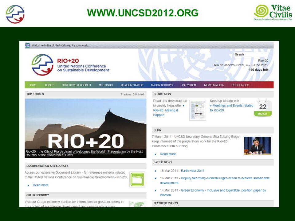 POSIÇÃO OFICIAL DO GOV BRASILIEIRO (entregue à Sec da Rio+20 em 01/11/2011)