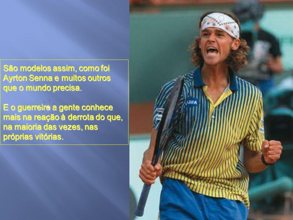 Esta imagem é a que fica em nossa cabeça. De um jovem brilhante, lutador, guerreiro e acima de tudo, humano, humilde.