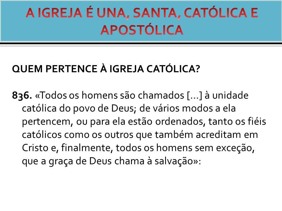QUEM PERTENCE À IGREJA CATÓLICA.836.