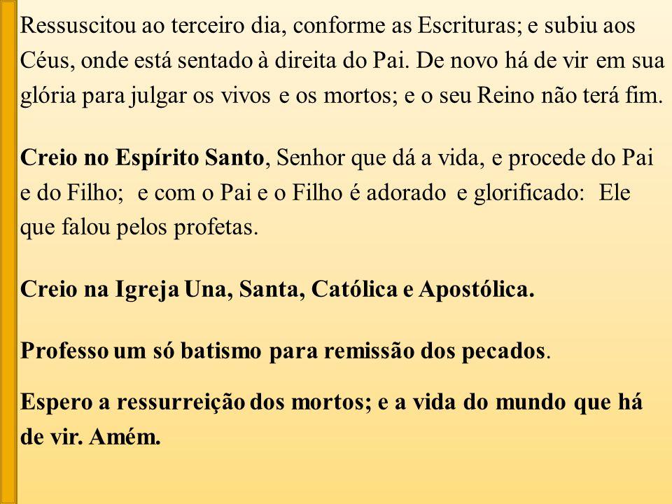 – expectativa acompanhada pelo drama da ignorância ou do falso conhecimento de Cristo Jesus.