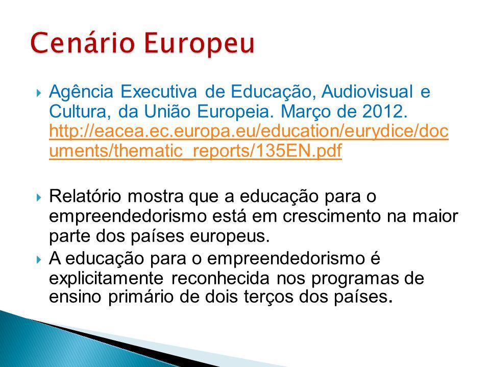  Agência Executiva de Educação, Audiovisual e Cultura, da União Europeia. Março de 2012. http://eacea.ec.europa.eu/education/eurydice/doc uments/them