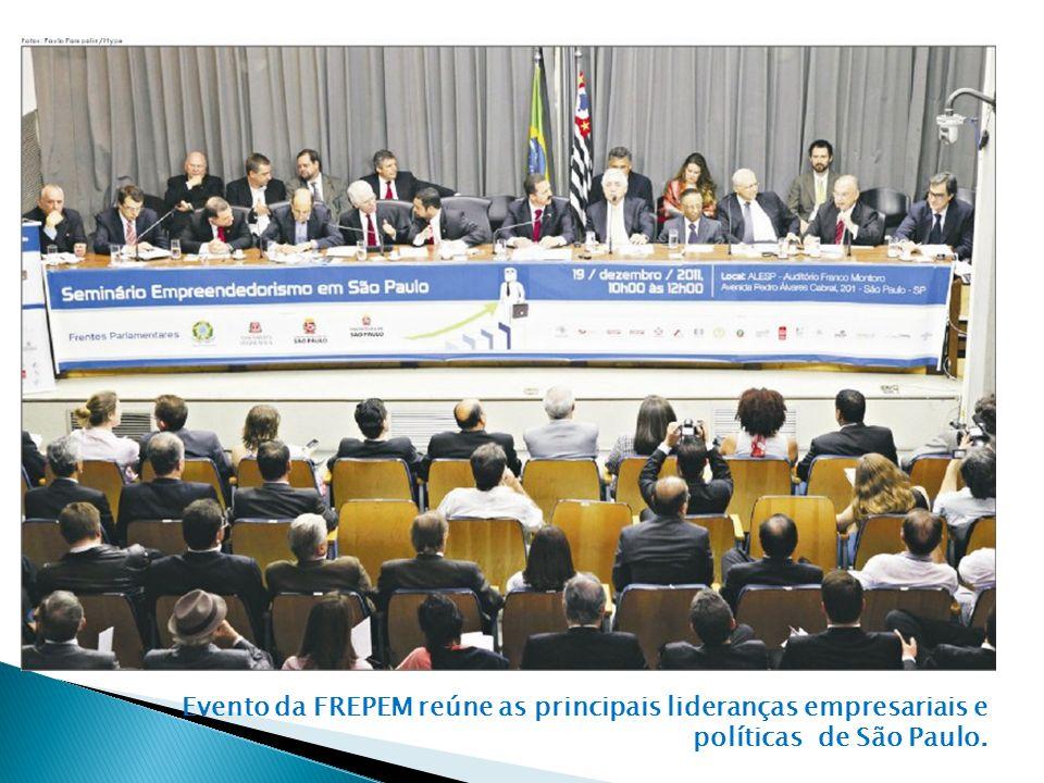 Evento da FREPEM reúne as principais lideranças empresariais e políticas de São Paulo.
